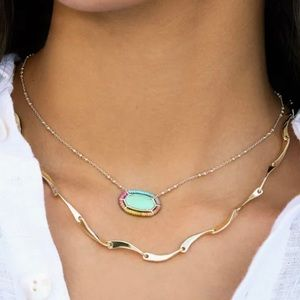 Kendra Scott Threaded Elisa Necklace In Mi…